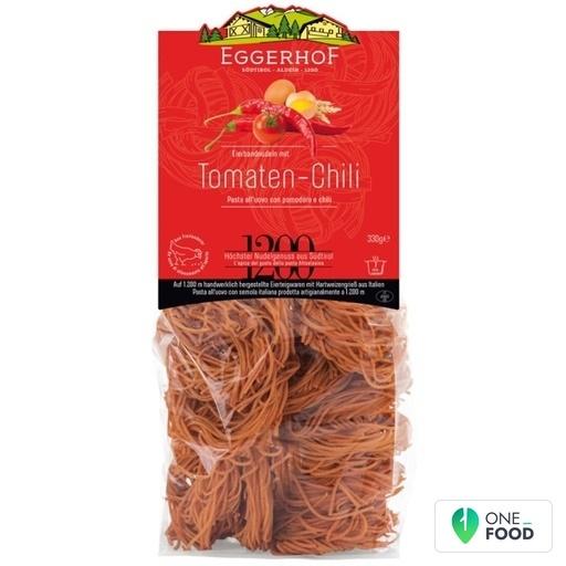 Eierbandnudeln Mit Tomaten Chilli